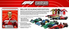 《F1 2020》豪華版 (Deluxe Schumacher Edition)