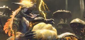 《魔物獵人 崛起》雷神龍