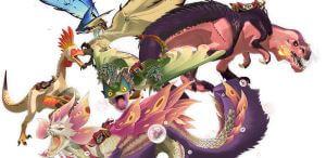 《魔物獵人物語2 破滅之翼》隨行獸名單(魔物)