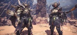 《魔物獵人世界》黑龍防具 「精英‧龍α」系列