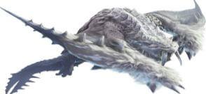 《魔物獵人世界》霜刃冰牙龍