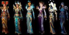 《魔獸世界 經典版》牧師Tier服裝