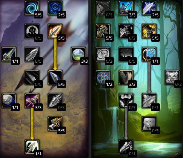 《魔獸世界 經典版》射擊獵人天賦 PVP型