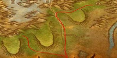 《魔獸世界 經典版》戰場-奧山-雷矛衛隊/霜狼氐族大本營
